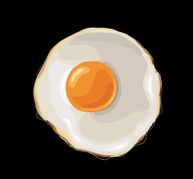 Жаренное яйцо