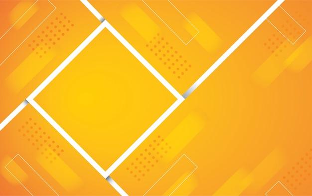 Абстрактный оранжевый цвет квадратного фона