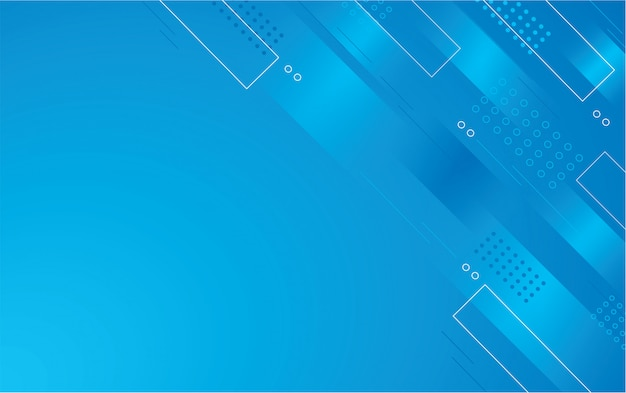 抽象的な青い色の正方形の背景