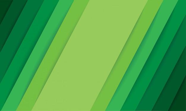 Абстрактный фон современные зеленые линии