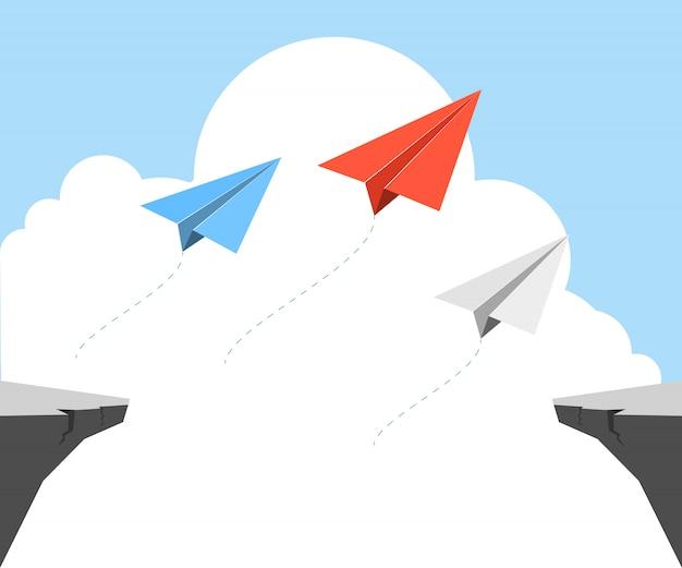 折り紙飛行機
