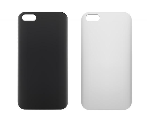 空白のスマートフォンケース。