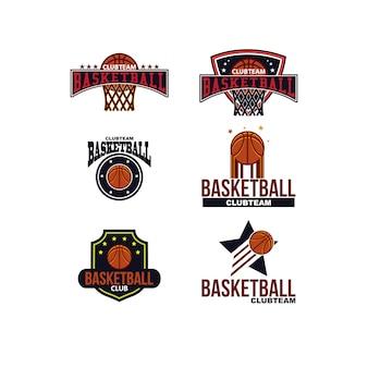 バスケットボールクラブのロゴ
