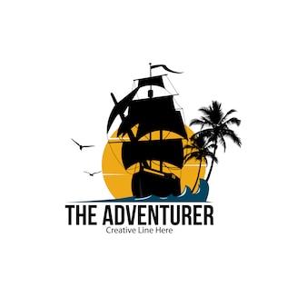冒険家のロゴ