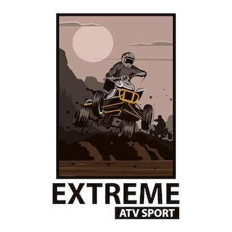 Атв экстрим спорт