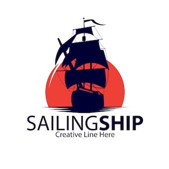 Логотип парусного судна