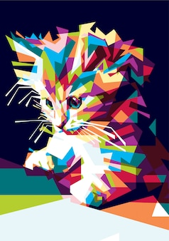フルカラー猫