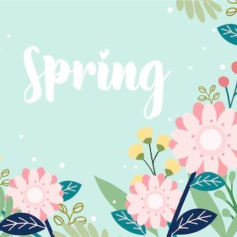 Весенний набор цветов