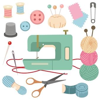 Коллекция швейных наборов.