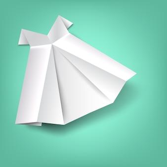 スカート折り紙