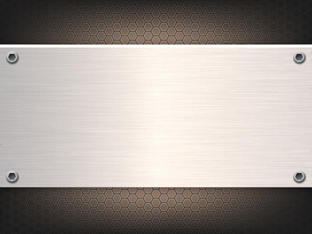 Твердый металлический лист абстрактный фон.