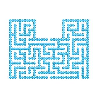 Абстрактный лабиринт. развивающая игра для детей.