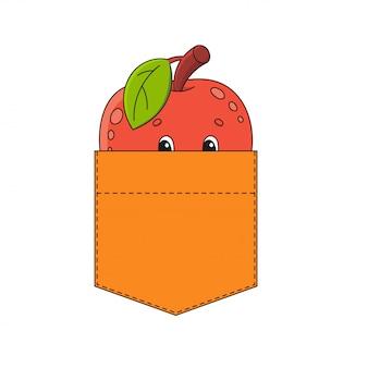 Яблоко в кармане рубашки