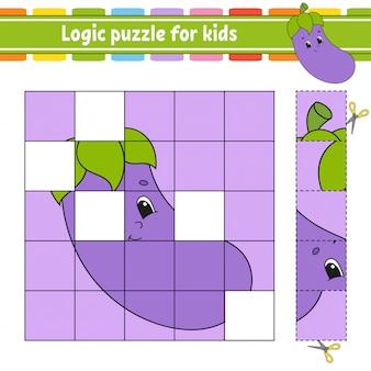 Логическая головоломка для детей.