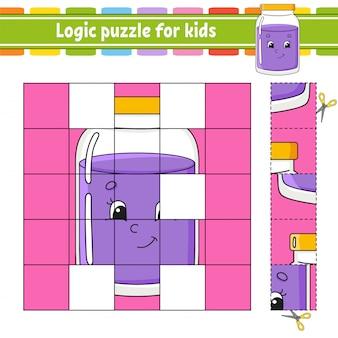 子供向けの論理パズル。