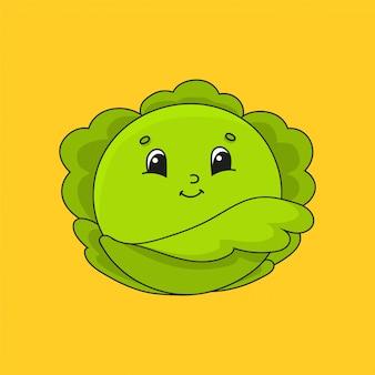 緑のキャベツ。
