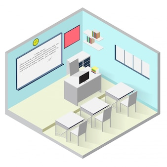 教室等尺性のアイコン