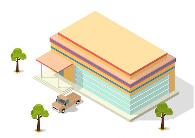 Изометрический магазин