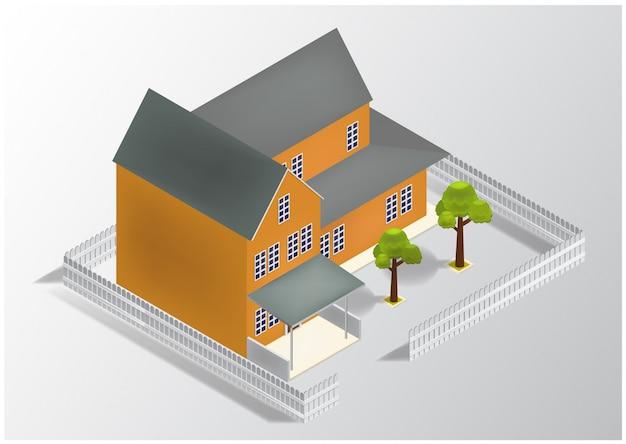 Изометрический дом