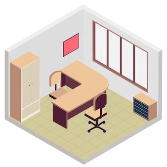 等尺性事務室アイコン