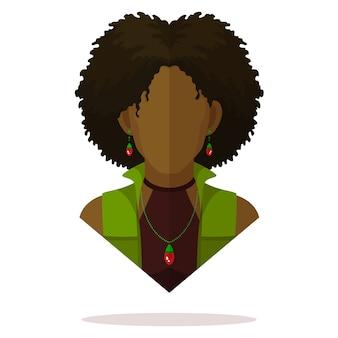 黒人女性アバター