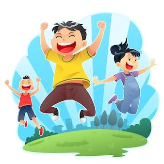 Счастливые прыжки