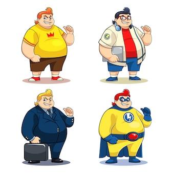 Мистер большие персонажи