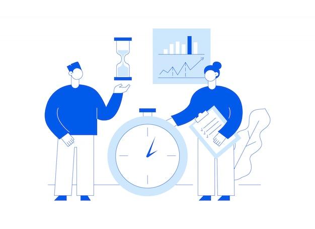 Вектор коллективной работы и бизнес-стратегии веб-страницы