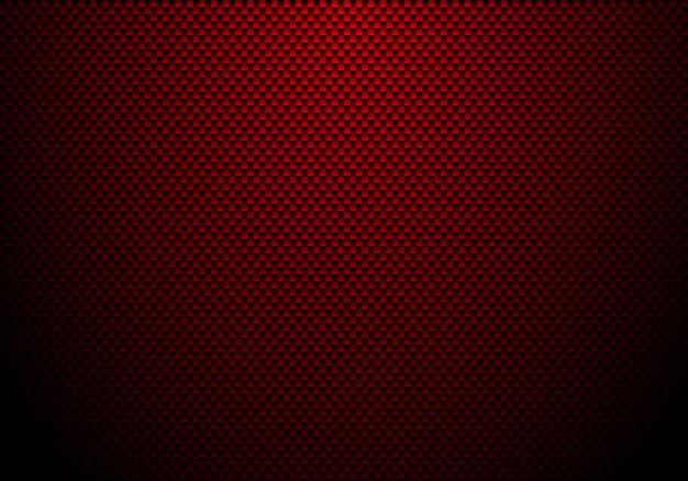 赤いカーボンファイバーの背景