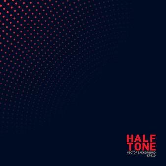 抽象的な赤いネオンカラーハーフトーンの背景。