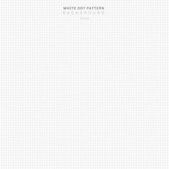抽象的な白いドットの背景