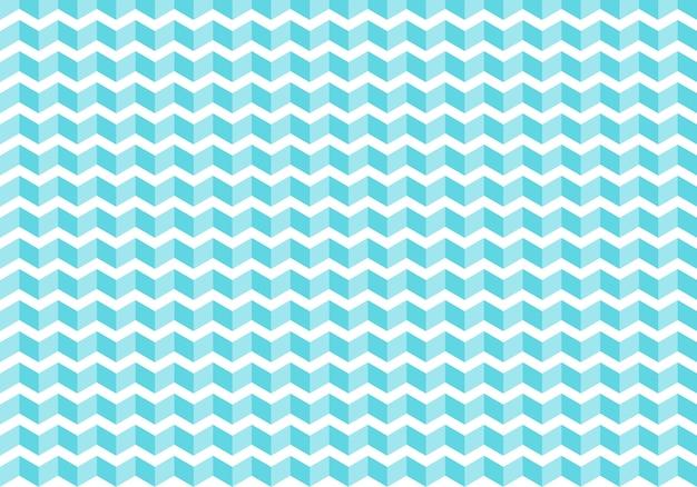 抽象的なブルーシェブロンタイルパターン背景