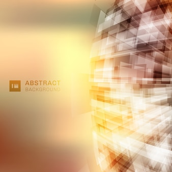 抽象的なテクノロジーの未来的な幾何学的な背景