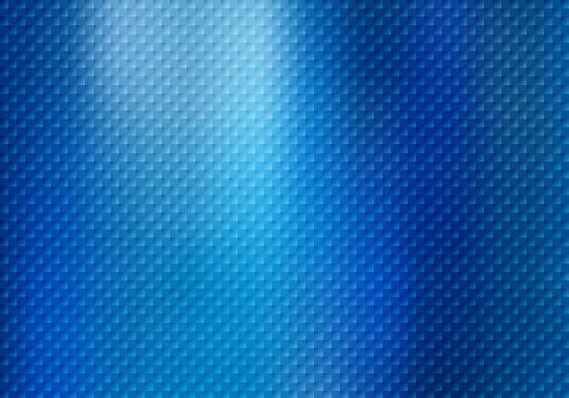 青の背景に抽象的な正方形のパターン。