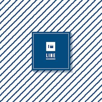 抽象的なパターンの青い大まかなラインホワイトバックグラウンド。