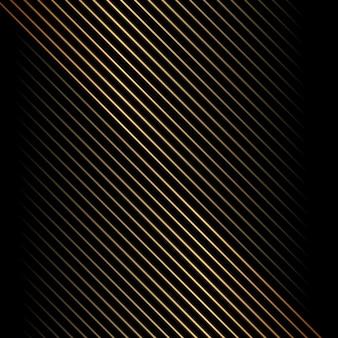 抽象的なゴールドの斜線パターン