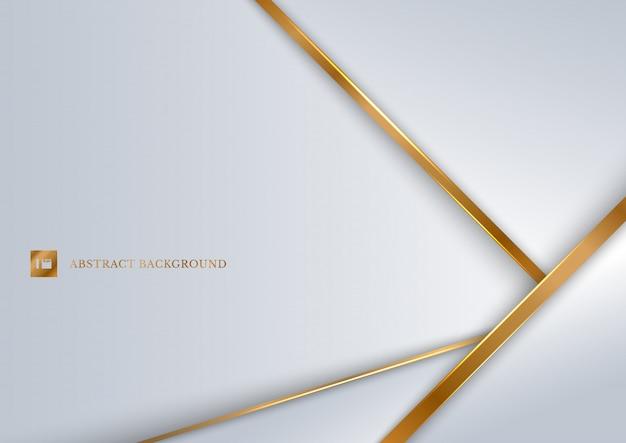 Абстрактный белый фон геометрический слой