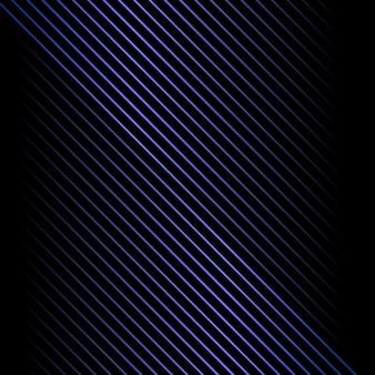抽象的な青い金属斜め線背景