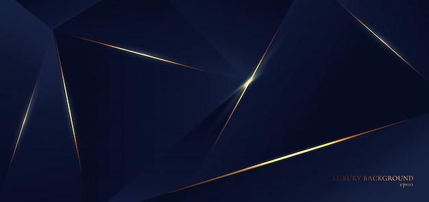 抽象的な青いポリゴン三角形形状パターン背景