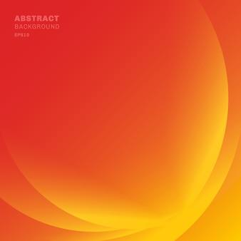 抽象的な赤い光線の波背景