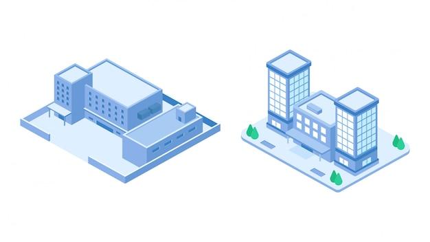 等尺性会社建物セット