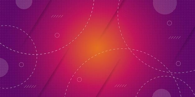 抽象的な幾何学的形状の背景