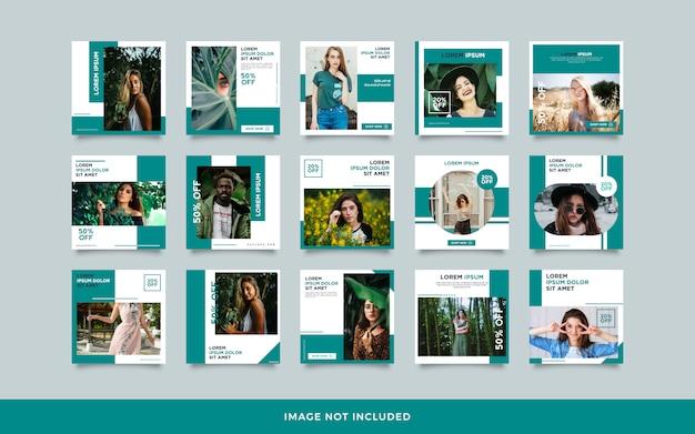 Социальная сеть опубликовать шаблон коллекции