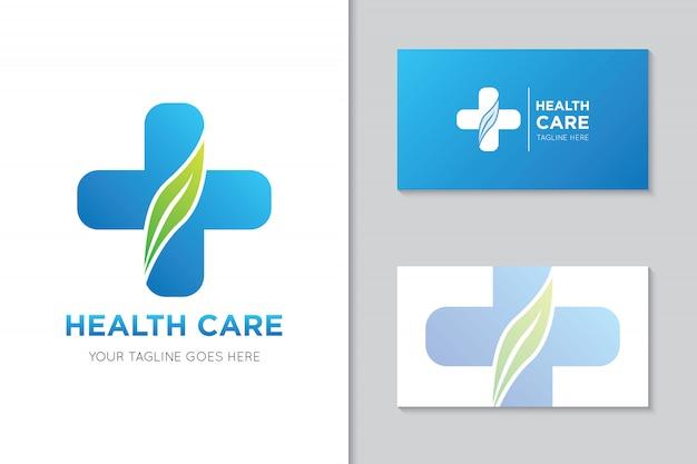 医療ヘルスケアのロゴとアイコンの図