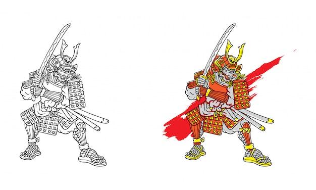 Волк самурай