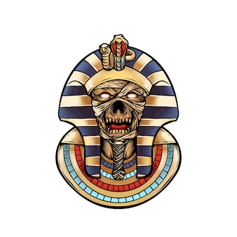 Череп мумия фараона