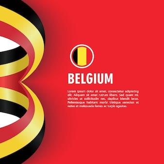 ベルギー独立記念日ベクトルテンプレートデザインイラスト
