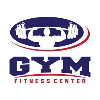 フィットネス&ジムのロゴ