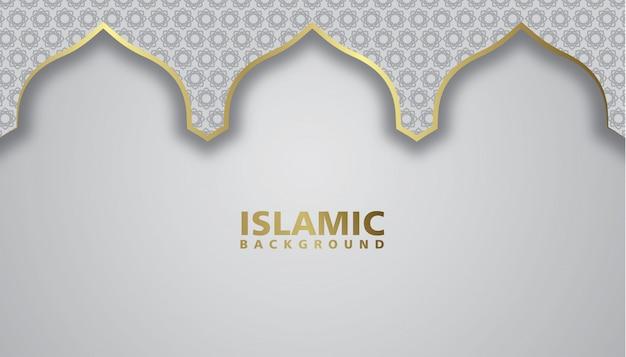 Фон мечети, исламский фон