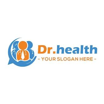 Вектор логотипа врача